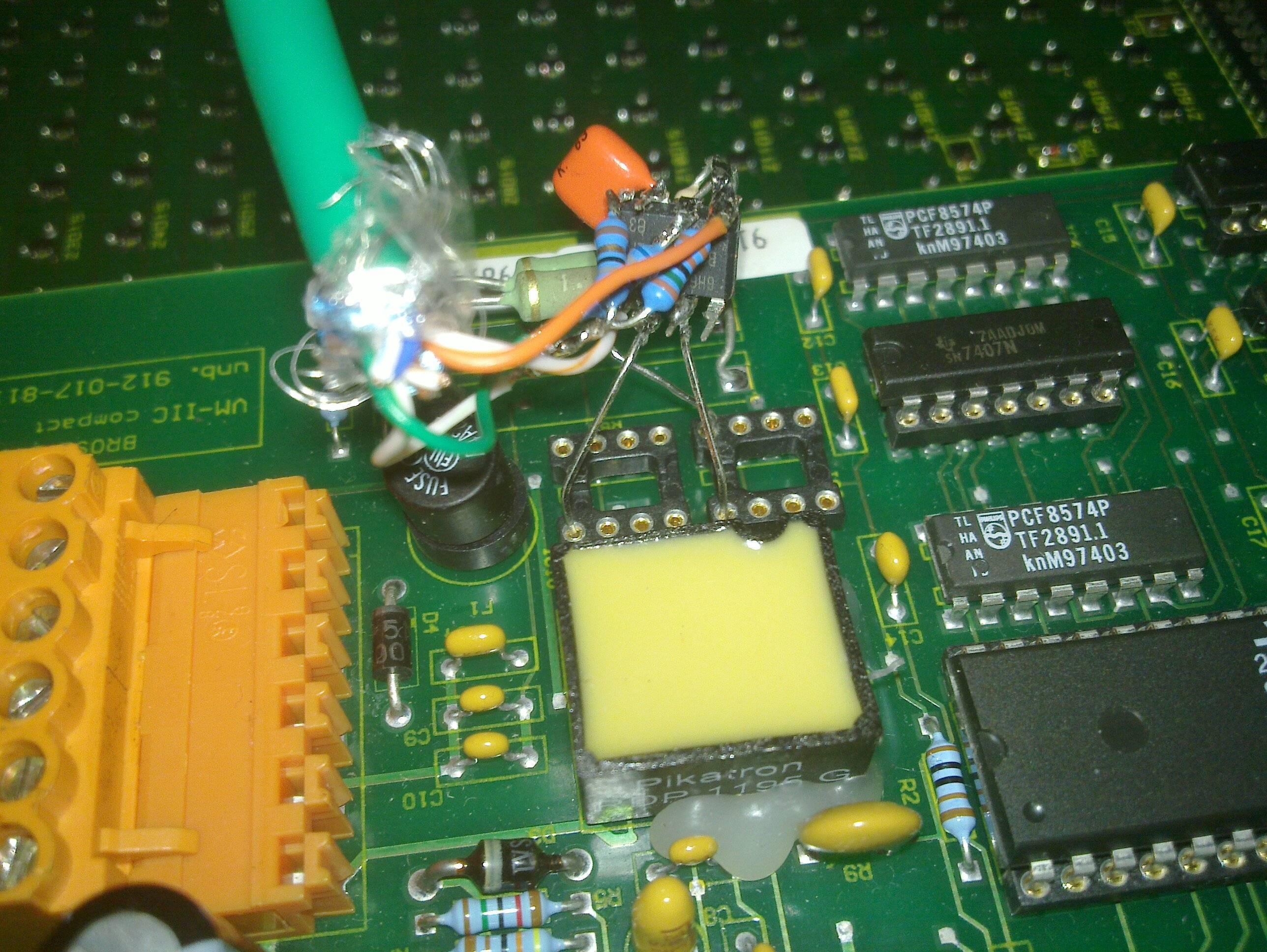 i²c controller installed