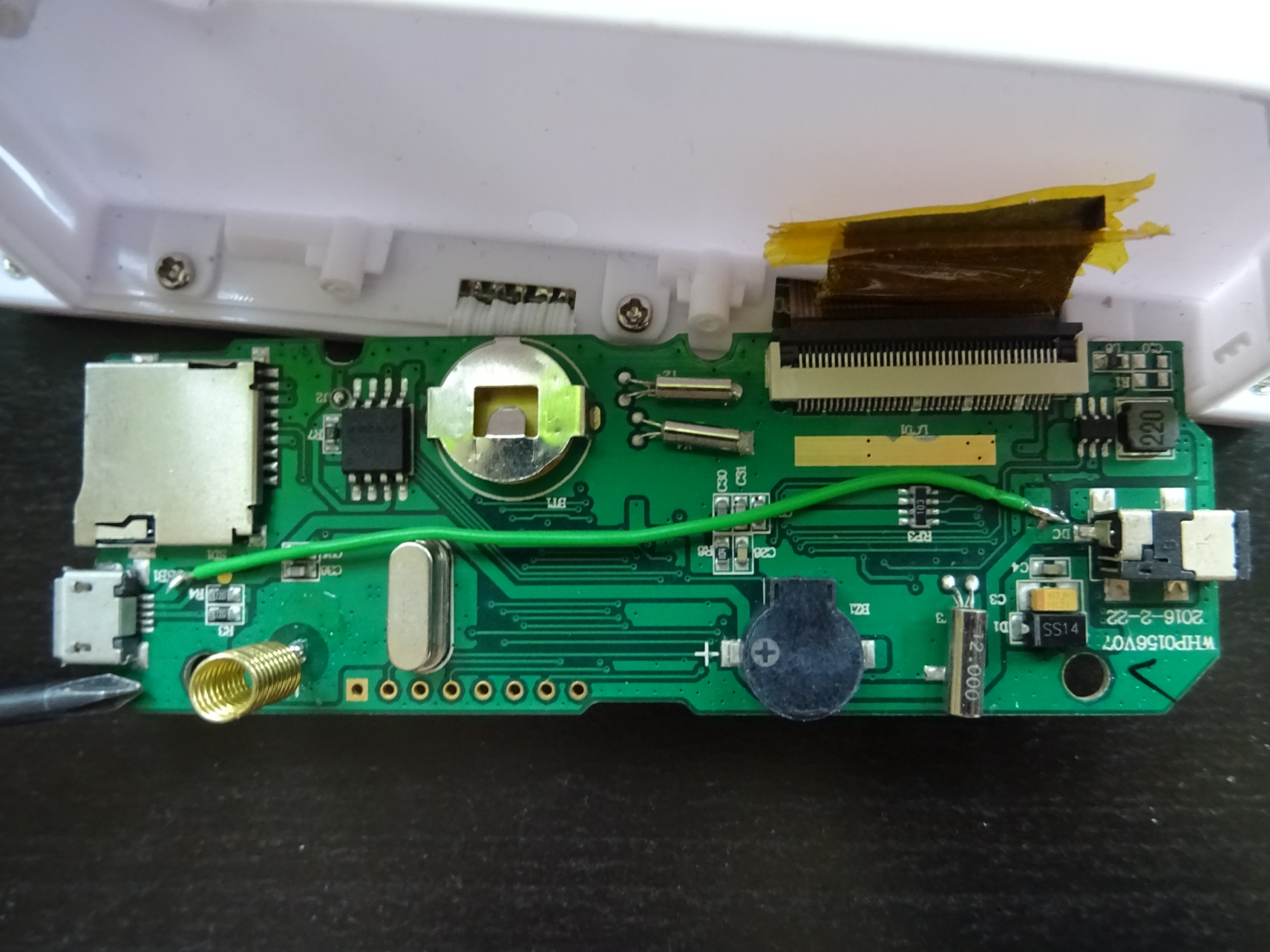 Froggit DL5000 Inside Modification